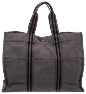 Hermès Tote in Gray Black