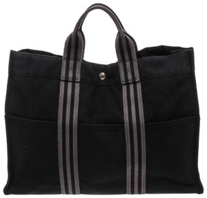 Hermès Tote in Black Gray