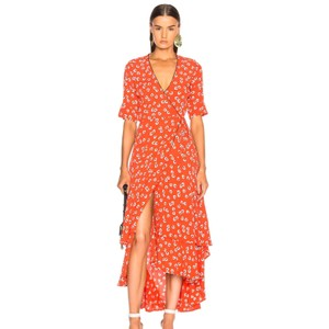 Red Maxi Dress by Ganni