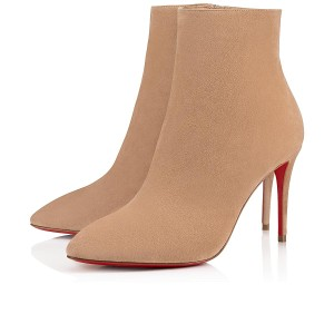 Christian Louboutin Eloise Suede beige Boots