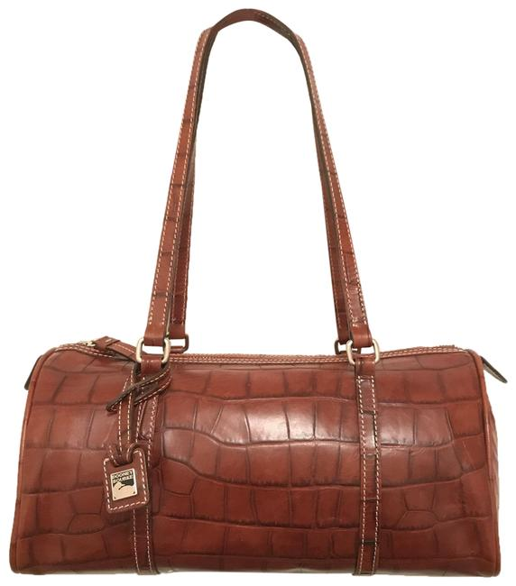 Item - Bayou Collection Brown Silver Leather Shoulder Bag