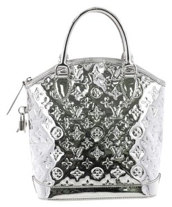 Louis Vuitton Handbag Pvc Tote in silver
