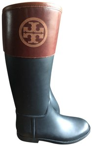 Tory Burch black and brown Boots