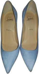Christian Louboutin Powder Blue Pumps