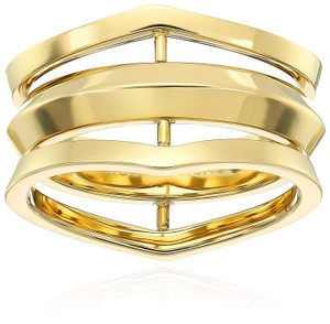 Michael Kors MKJ6430 Michael Kors Knife Edge Gold-Tone Open Ring