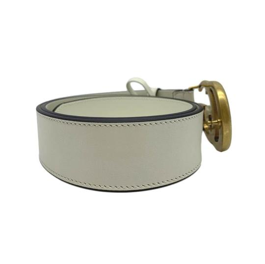 Gucci Gucci Marmont GG Leather Belt White 85 34 Image 2
