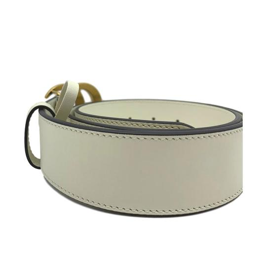 Gucci Gucci Marmont GG Leather Belt White 85 34 Image 7