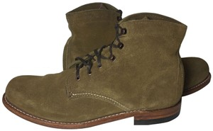 dfef496e619 Wolverine Brown Mile Suede Work Combat Women's Boots/Booties Size US 10  Regular (M, B) 49% off retail