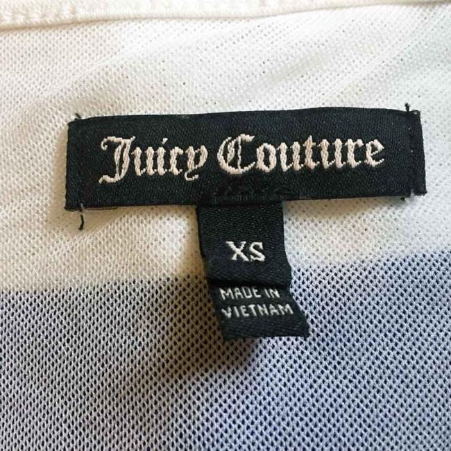 Juicy Couture short dress Blue Striped Embroidered 3/4 Sleeves Lace Up on Tradesy Image 8