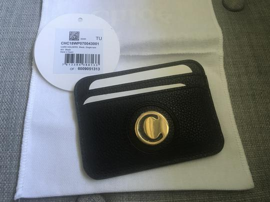 Chloé Slide Calfskin Leather Card Case SOLD OUT Image 2