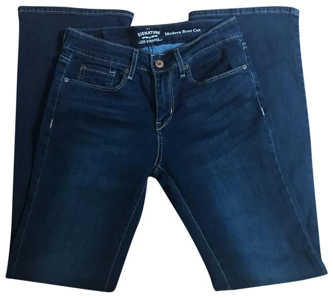 Item - Dark Wash Rinse Boot Cut Jeans Size 4 (S, 27)