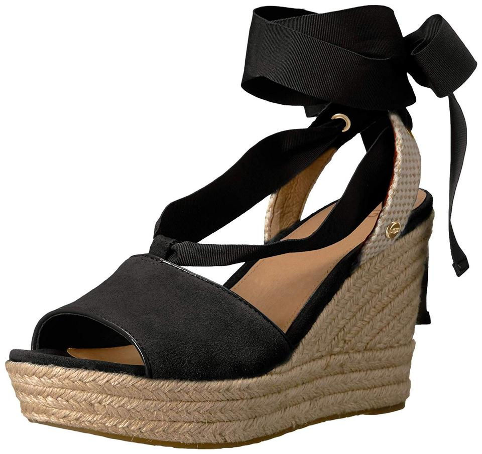 df44326bca4 UGG Australia Black Shiloh New with Tags Wedges Size US 7 Regular (M, B)