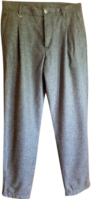 Item - Blue Tweed Slacks Pants Size 8 (M, 29, 30)