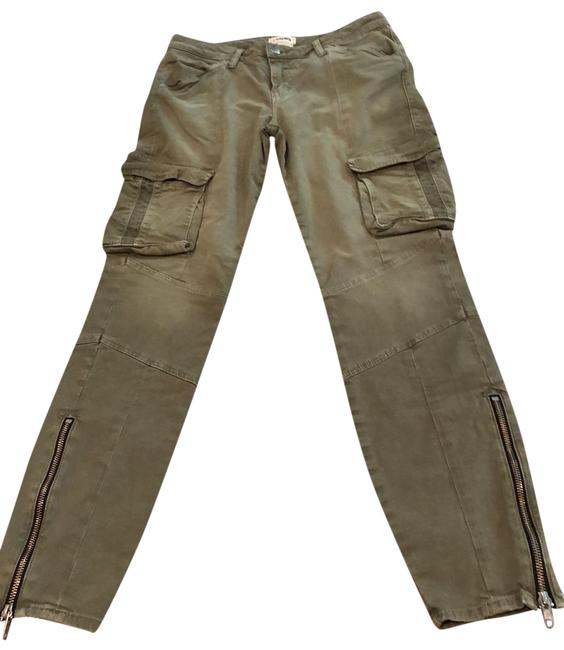Item - Olive Cargo Jeans Size 6 (S, 28)