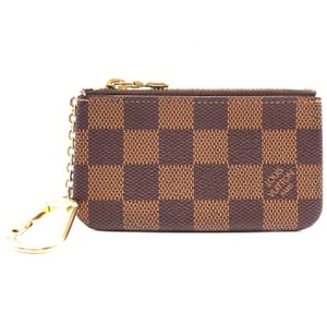 2f746d66d Louis Vuitton Damier Zippy key cles Pocket Holder Card Case Coin Purse