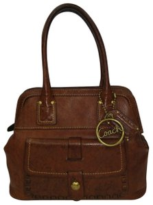 Coach Whiskey Legacy Collection 11373 Tote in Brown