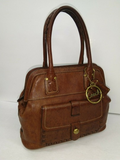 Coach Whiskey Legacy Collection 11373 Tote in Brown Image 1
