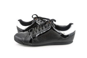 Louis Vuitton Black Perforated Low-top Sneakers Shoes