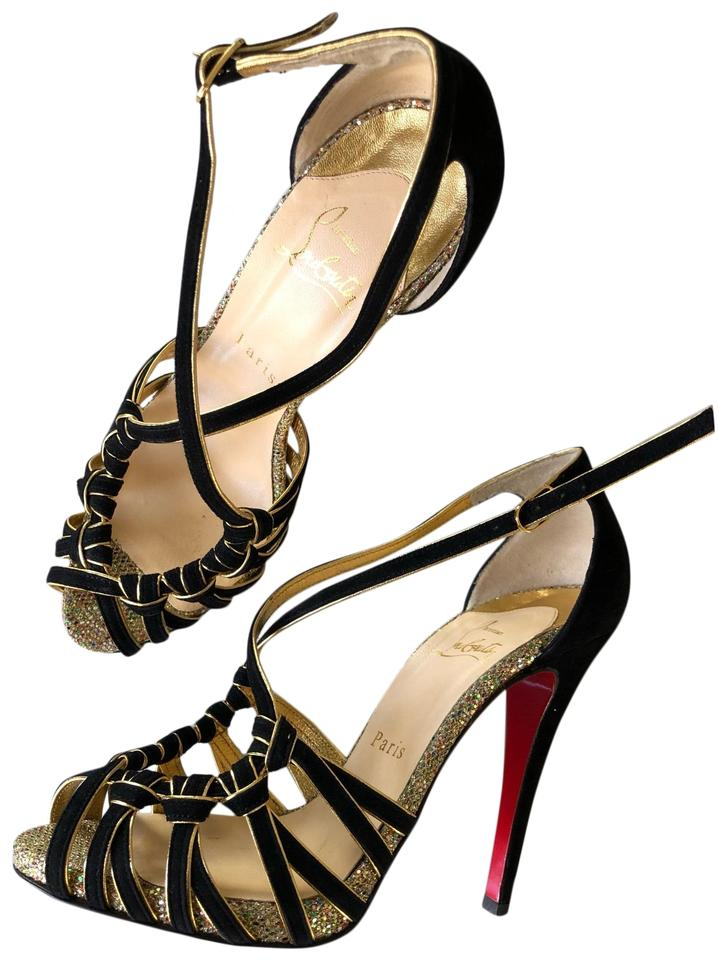 new style 11356 5b1a9 Christian Louboutin 8 Mignons 120 Black Suede Pumps Size EU 38 (Approx. US  8) Regular (M, B) 60% off retail