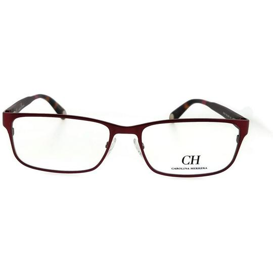 Carolina Herrera VHE074-08C6-56 Rectangle Women's Red Tortoise Frame Eyeglasses Image 1