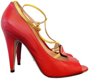 Gucci Molina Lips Leather Musthave Iconic Red Pumps