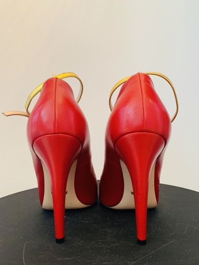 Gucci Molina Lips Leather Musthave Iconic Red Pumps Image 3