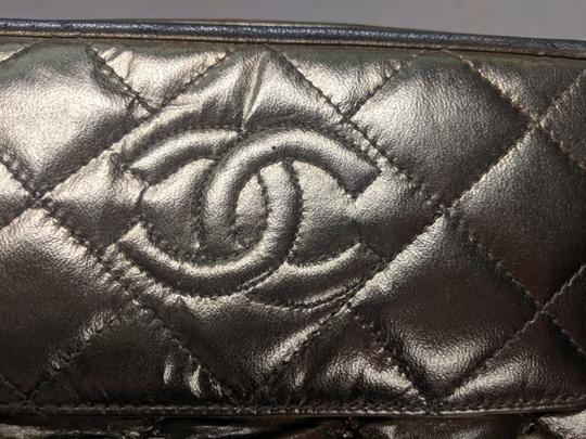 Chanel Quilted Chain Front Flap Metallic Tassels Cross Body Bag Image 6