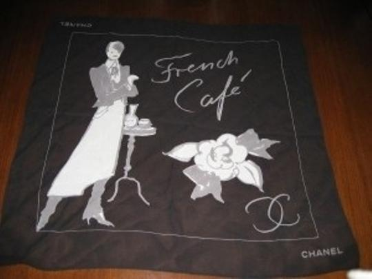 Chanel CHANEL Silk Square Scarf