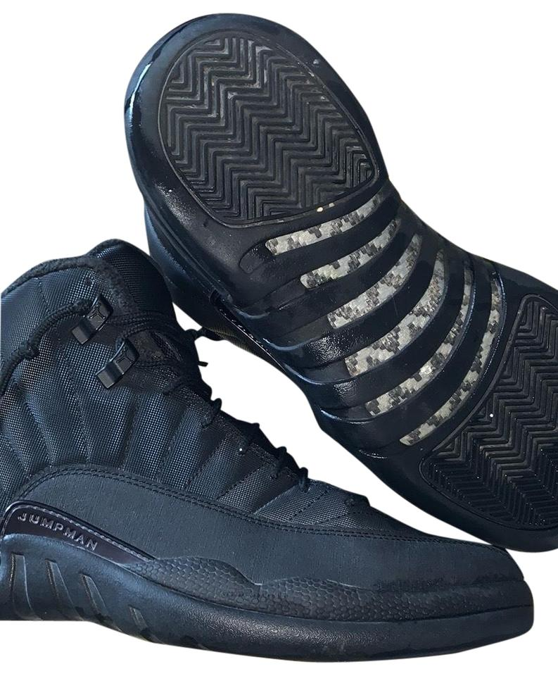 new products 1fa4b c453d Black 12 Winterized Sneakers
