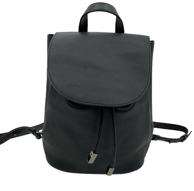 Item - Petra Black Leather Backpack