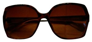 Oleg Cassini OSCAR DE LA RENTA #1141 Brown Oversized Sunglasses