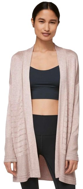 Item - Heathered Pink Bliss Graceful New Embrace Wrap Poncho/Cape Size 10 (M)