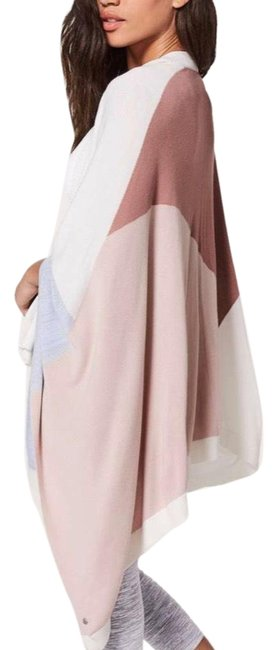 Item - Quicksand / Misty Pink / Silver Fox / Alpine White New Hatha Wrap Poncho/Cape Size OS (one size)