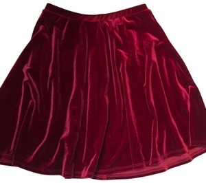 Soprano Mini Skirt red