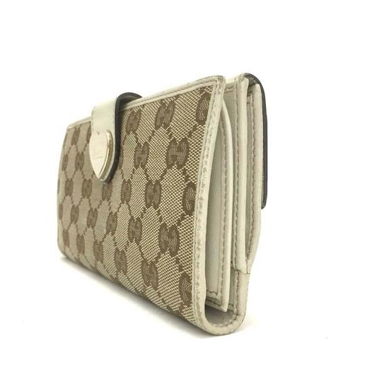 Gucci GUCCI Heart G-G Monogram Long Bifold Wallet Image 2