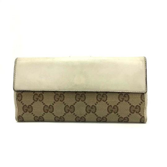 Gucci GUCCI Heart G-G Monogram Long Bifold Wallet Image 8