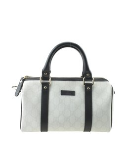 Gucci Canvas Satchel in White