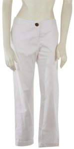 Tory Burch Casual Trouser Pants White