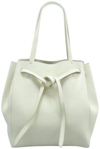 Céline Calfskin Cabas Phantom Tote in Bisque