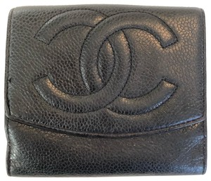 Chanel CHANEL CAVIAR LEATHER BIFOLD