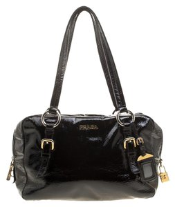 2c80694fdc Patent Leather Prada Satchels - Up to 70% off at Tradesy