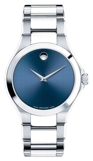 Preload https://img-static.tradesy.com/item/25531592/movado-silver-defio-stainless-steel-sapphire-blue-dial-0607311-watch-0-1-540-540.jpg