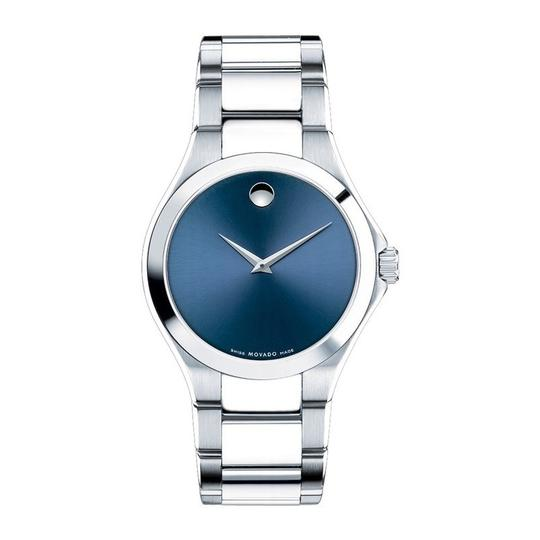 Movado Defio Stainless Steel Sapphire Blue Dial 0607311 Image 4