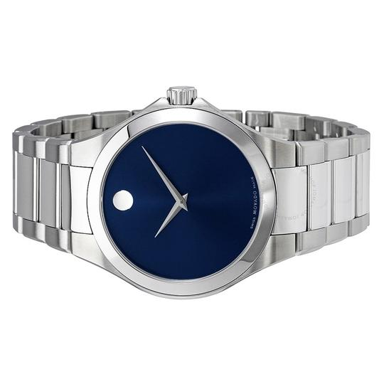 Movado Defio Stainless Steel Sapphire Blue Dial 0607311 Image 5