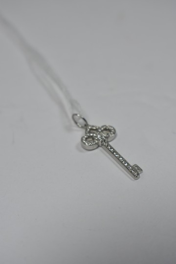 09d47f391 Tiffany & Co. Tiffany & Co. Platinum Diamond Fleur de Lis Key Pendant Image