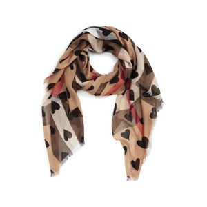 Burberry Burberry Check Heart SCarf