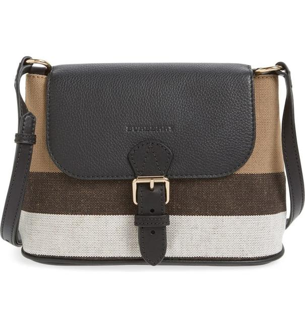 Burberry Gowan Canvas Black Cross Body Bag Burberry Gowan Canvas Black Cross Body Bag Image 1