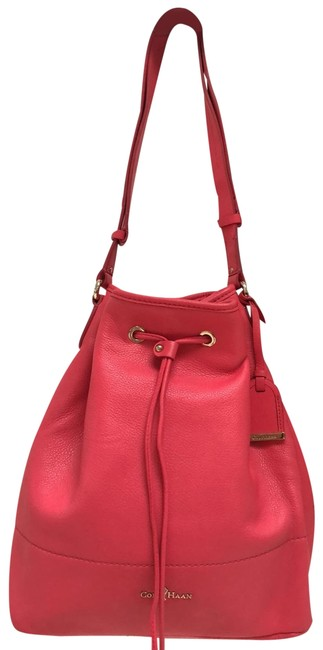 Item - Bucket Bright Pink Leather Hobo Bag