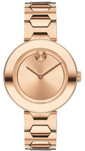 Movado BRAND NEW WOMEN'S MOVADO BOLD (3600387) MUSEUM ROSE GOLD TONE SUNRAY D