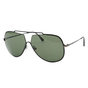 Tom Ford New Tf Chase-02 TF-586 01N Metal Top Bar Aviator Sunglasses 61mm